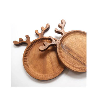 Kitchenware Kitchen Untensils Plywood Wholesale Wooden Pizza Plate for Bread Tray