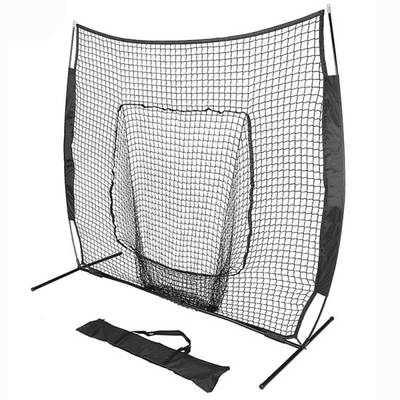 Outdoor Folding Portable Training Baseball Practice Pitching Batting Cage Nets