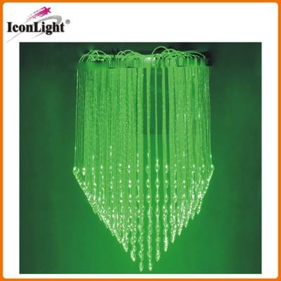 Crystal Fiber Optic Chandelier Ceiling Light (ICON-FC-08)