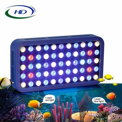 Newest 165W WiFi Control Dimmable LED Aquarium Light for 280L/150lcoral Reef Fish Tank Fresh Water/S
