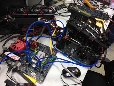 High Performance Bitcoin Ethereum Miner DDR5 P104 P106 Gtx1060 1070ti Gtx 1080ti Graphics Cards, GPU