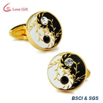 High Quality Fashion Luxury Gold Metal Craft Cufflinks for Men