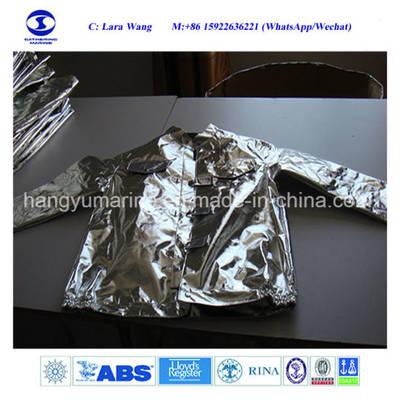 Solas Approved Aluminum Foils Protective Suit OEM Fire Protection Fire Suit