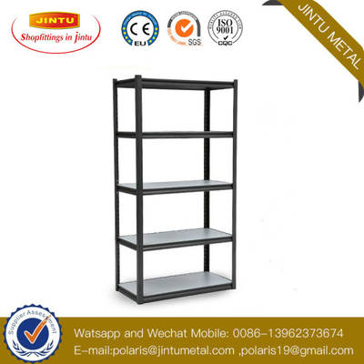 Adjustable 5 Shelves Garage Racking Light Duty Metal Shelving/Boltless Rack