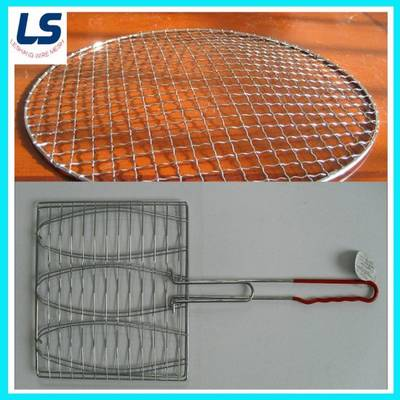 BBQ Grill Mesh with Handle or Without Handle