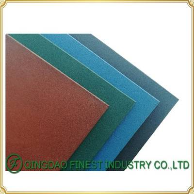 Colorful Heavy Duty Playground Gym Rubber Flooring Tile Rubber Mat for Playground