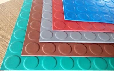 Indoor Rubber Tile, Anti-Slip Rubber Flooring, Fire-Resistant Rubber Flooring