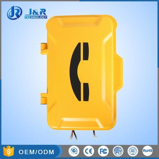 Industrial Telephone Emergency Vandal Resistant Telephone Wall Mounted Telephone