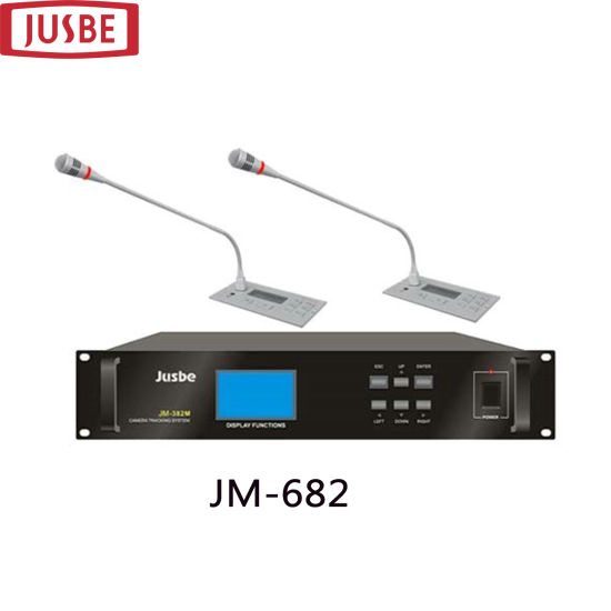 Jm-682 Voting Full-Featured Conference System with Condense Embedded Microphone