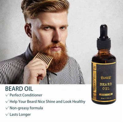 Private Label Organic Beard Growth Oil for Men