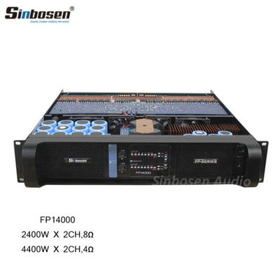 Sinbosen 2 Channel Professional Sound Stereo Audio Fp14000 Power Amplifier