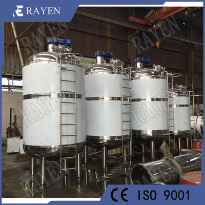 200 Gallon Stainless Steel Pharmaceutical Industrical Chemical Glue Pressure Double Jacketed Ferment