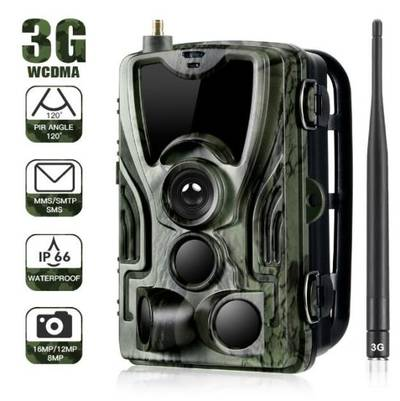 3G MMS Outdoor Waterproof 3PIR Surveillance Wild Animal Thermal Imageing Camera