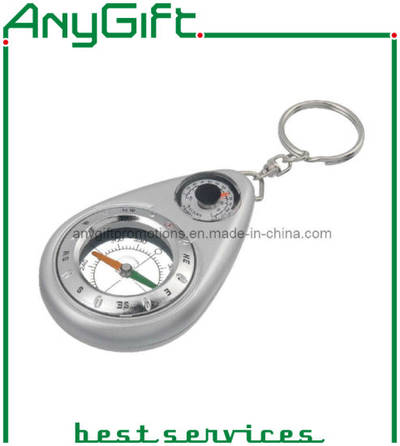 Acrylic Keyring with Compass with Customized Logo