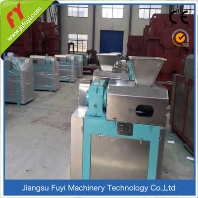 Ammonium chloride/sulfate double roller dry granulating test machine