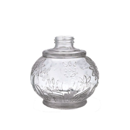 Clear Glass Alcohol Oil Lamp
