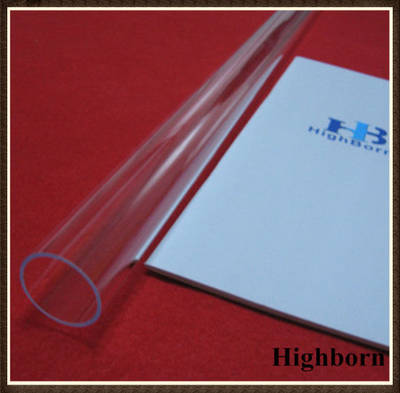 Clear Ozone Free Fused Quartz Glass Tube Tubing