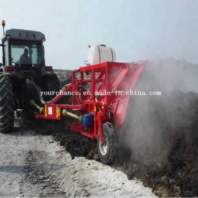 Excellent Working Performance Zfq Series 80-180HP Tractor Towable 2.5-3.5m Width Compost Turner for
