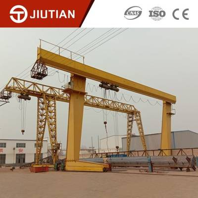 Portable Adjustable Electric Hoist Light Duty Single Girder Gantry Crane