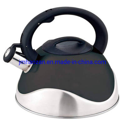 Stainless Steel 3.0L Capsule Bottom Whistling Stovetop Tea Kettle