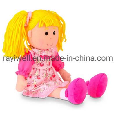 Custom Stuffed 25-60cm Soft Plush Toy Rag Dolls for Kids