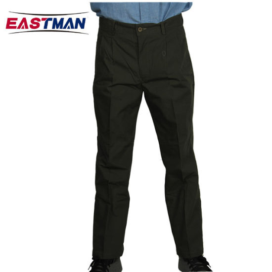 Comfortable Cotton Workwear Casual Pants
