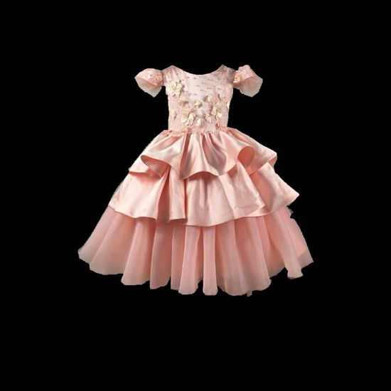 Custom Make Flower Girl Evening Prom Party Children Dress Rsl008