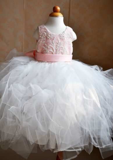 New Fashion Kids Chiffon Princess Baby Girls Tutu Dress