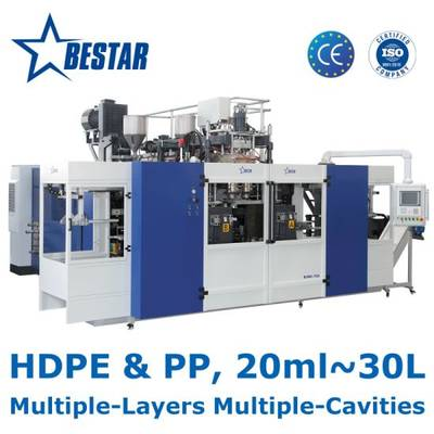 Bestar Automatic Bottle Blow Moulding Machine for HDPE PP