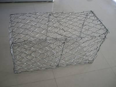Galvanized Hexagonal Wire Mesh Gabion / Gabion Box
