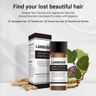 Lanbena Hair Growth Essential Oil with Factory Price