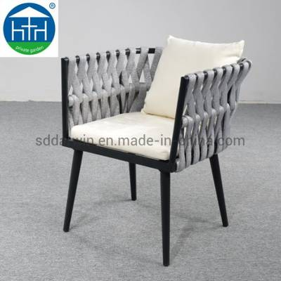 Outdoor Furniture Rope Weaving Hotel Patio Table and Chairs