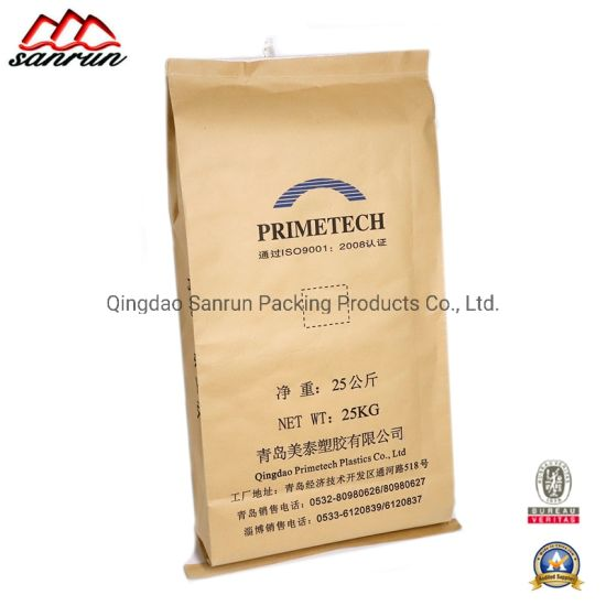 Paper-Plastic PP Woven Bag for Packing Chemical, Mineral