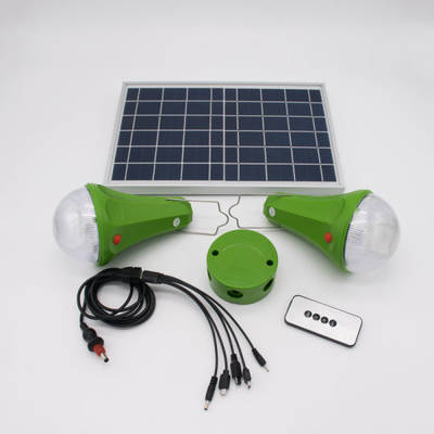 Solar Home Lighting System 30W Solar Panel System Solar Charger