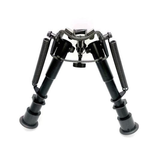 Tactical Rifle Harris Style Swivels 6-9 Inch Bipod Bracket Support Stand for 20mm 22mm Rail Guide Bi