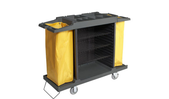 Utility Multifuntion Service Cart with Plastic Material (FW-069)