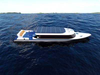 2019 Pure Electric Boat Zero Emission Aluminium Light-Weight Passenger Boat for 40 Persons