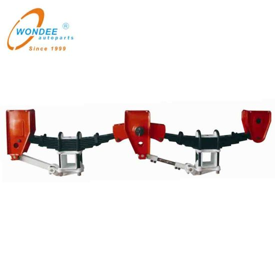 Germany BPW Type 2-Axle and Tri-Axle Mechanical Suspension for Heavy Duty Semi Trailer