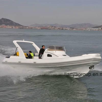 Liya 27feet Luxury Rib Boat Yachts Passenger Speed Boat