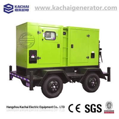 25kw/31.3kVA Trailer Mounted Towable Deutz Diesel Generator
