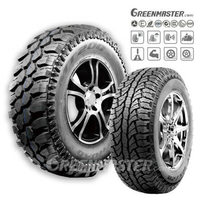 Competitive Passenger Car Tyre Manufacturer PCR Tires Pickup SUV 4X4 at/Ht/Mt/Rt Tire Factory