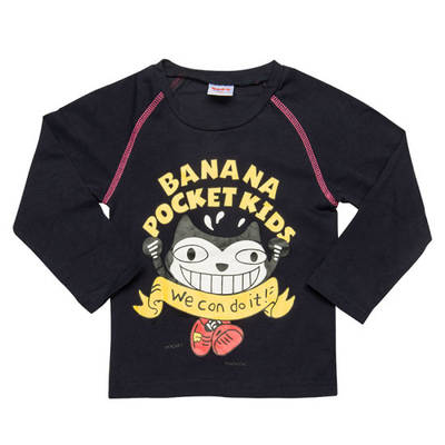 High Quality Kids′ Long Sleeve Tshirts Children Clothing (TS041W)