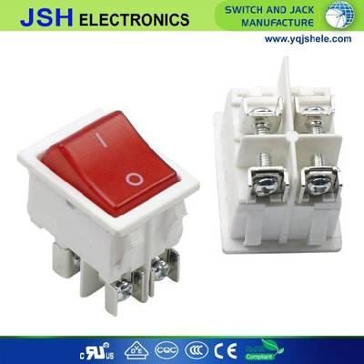Kcd4 Light 16A Rocker Switch with Screw Terminals