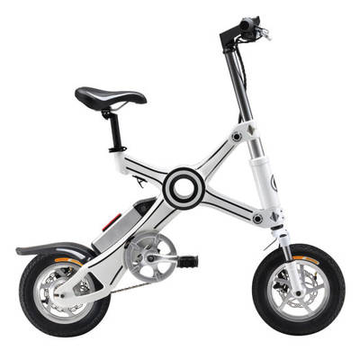 Lithium Battery 250W Chainless Mini Electric Folding Bicycle