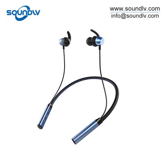 Mobile Handsfree Phone Stereo Sports Neckband Bluetooth Wired Headphone Earphone