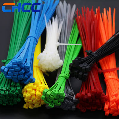 """600 ASSORTED NYLON WIRE CABLE ZIP TIES USA MADE 4/"""" /& 7/"""""""