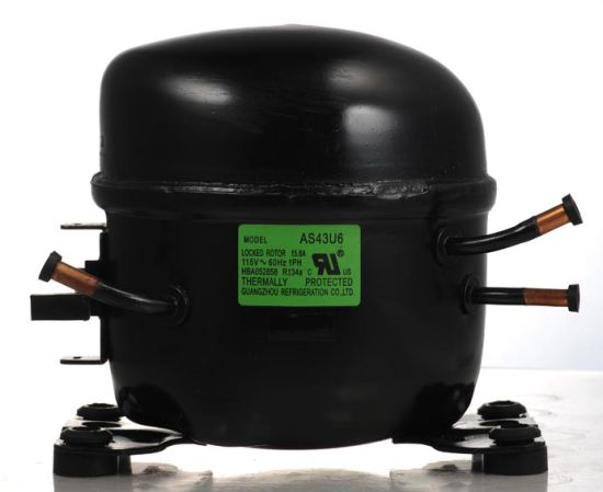 R134A 50Hz 1/3HP 1/4HP 1/5HP Huaguang Refrigerator Reciprocating Compressor