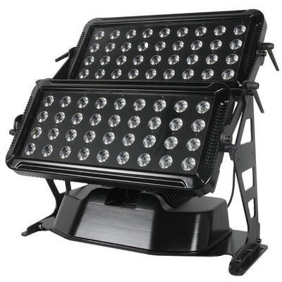 Rasha Waterproof 72LEDs 10W 4in1 RGBW LED City Color Light Outdoor LED Wall Washer DMX Stage Party