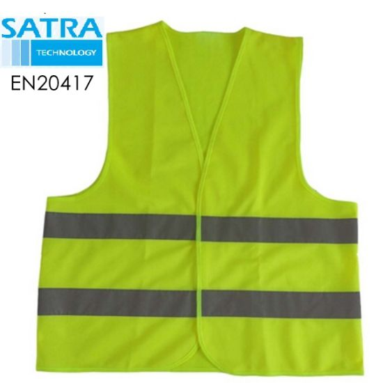 Reflective Safety Vest PPE EU 2016/425