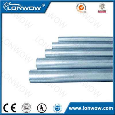 UL 797 Electrical Steel Galvanized EMT Conduit Pipe